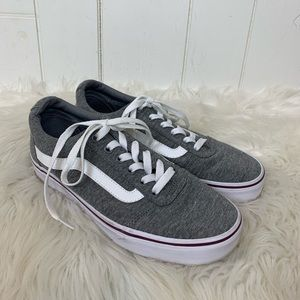 Vans Old Skool Sneakers Skate Shoes 8 Gray